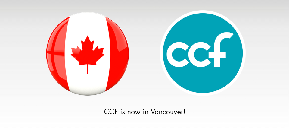 CCF is now in Vancouver!